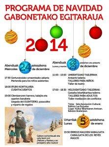 Programa de Navidad de Moreda de Álava 2014