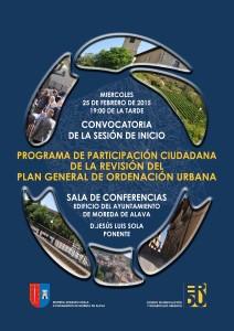 Cartel programa participacion