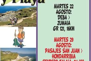 Senderismo y playa Verano 2017