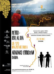 Marcha Popular del Camino Ignaciano rioja alavesa
