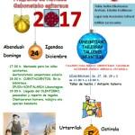 cartel navidad moreda de álava 2017
