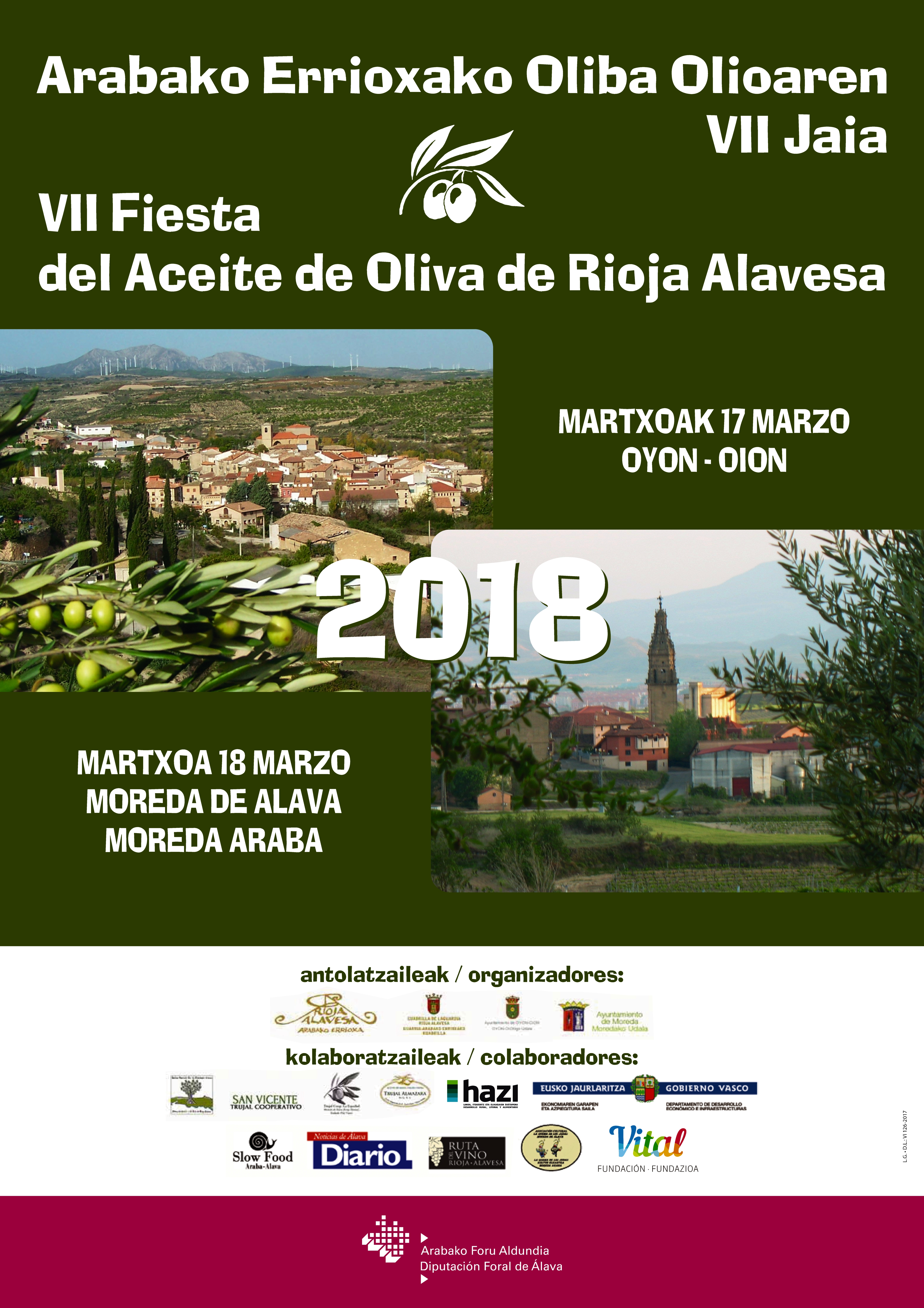 fiesta aceite de oliva de rioja alavesa 2018