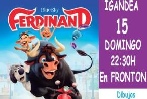 Cine de Verano Moreda de Álava: Ferdinand