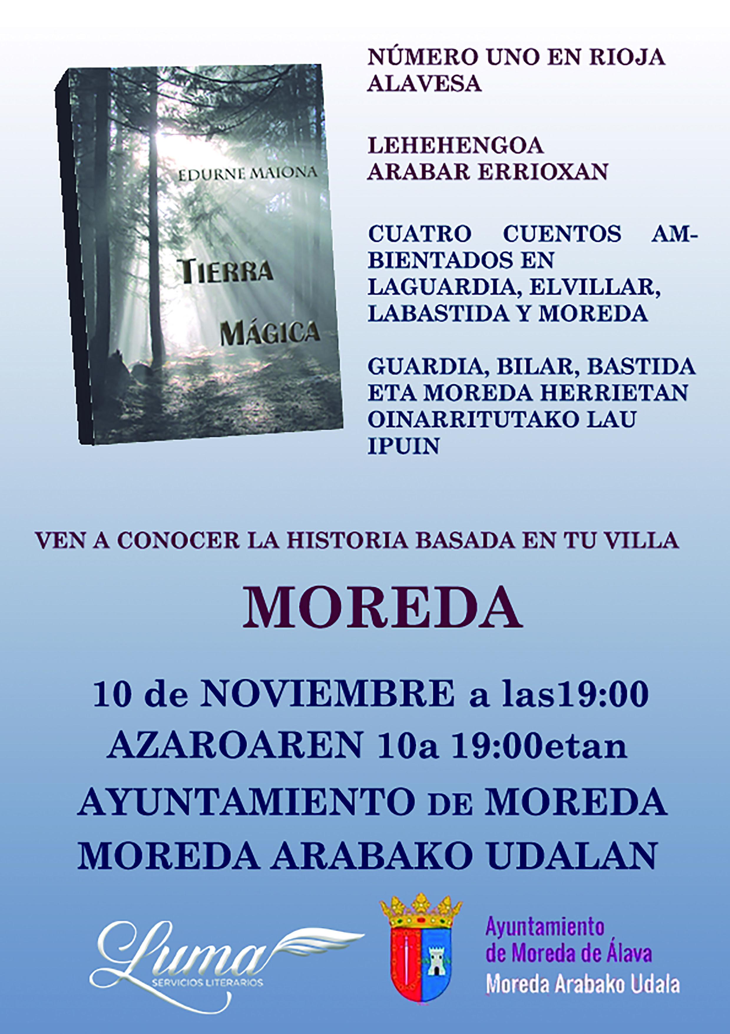 TXARTEL TIERRA MÁGICA MOREDA