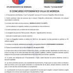 Bases de concurso fotografia