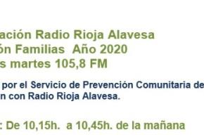 Programas Formación familias durante la cuarentena en Radio Rioja Alavesa