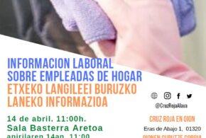 Información laboral sobre empleadas de hogar- etxeko lagileei buruzko laneko informazioa